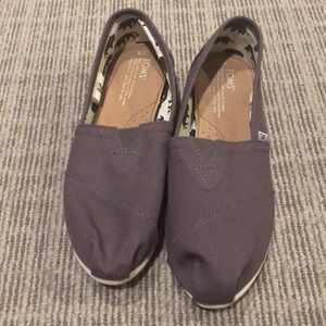 Never Worn - Charcoal Grey TOMS